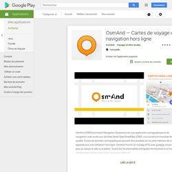 Maps & Navigation — OsmAnd