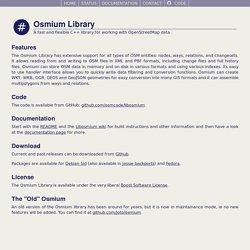 Osmium Library