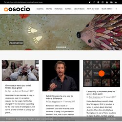 Home - Osocio, The best of non-profit advertising and marketing for social causes