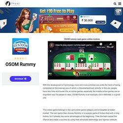 OSOM Rummy APK Download