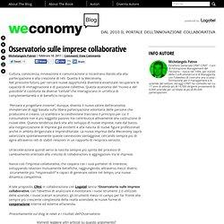 Osservatorio sulle imprese collaborative