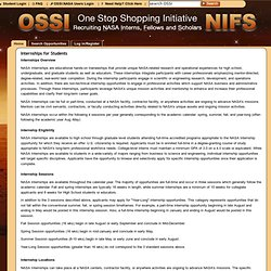 OSSI - Internships for Students