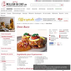 Osso Bucco - Recette de cuisine illustrée