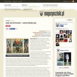 Sąd Ostateczny - opis obrazu - Hans Memling