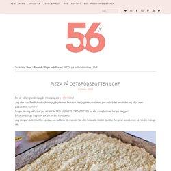 PIZZA på ostbrödsbotten LCHF - 56kilo - De godaste LCHF recepten!