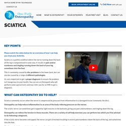 Sciatica Osteopath