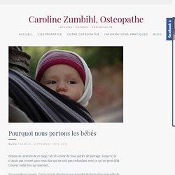 Caroline Zumbihl Ostéopathe Montpellier