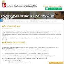 Admission, cout formation ostéopathe, etudes, ecole osteopathie prix - IT Ostéopathie