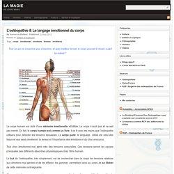 L'ostéopathie & Le langage émotionnel du corps