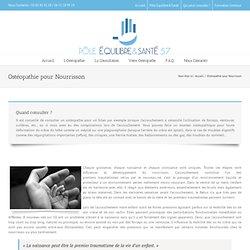 Ostéopathie pour Nourrisson - Pôle Equilibre&Santé de Moselle