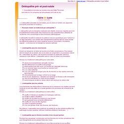 Ostéopathie prénatale et post-natale à Bruxelles