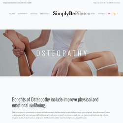 Osteopathy Structural in Barcelona