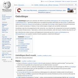 Ostéothèque