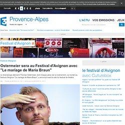"Mai 14, Ostermeier sera au Festival d'Avignon avec ""Le mariage de Maria Braun"""