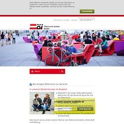 Österreich Institut Wien: Deutsch lernen in Österreich