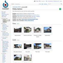 Ostia Antica — Wikimedia Commons