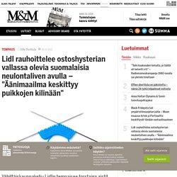 """Lidl rauhoittelee ostoshysterian vallassa olevia suomalaisia neulontaliven avulla – """"Äänimaailma keskittyy puikkojen kilinään"""" - Markkinointi & Mainonta"""