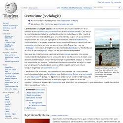 Ostracisme (sociologie)