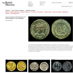 Ostrogothic coinage at the British Museum