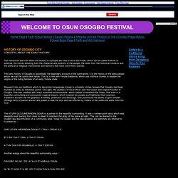 Osun festival
