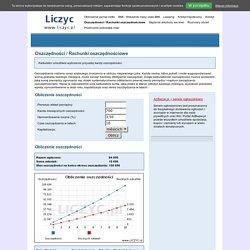 Oszczędności / Rachunki oszczędnościowe - www.liczyc.pl