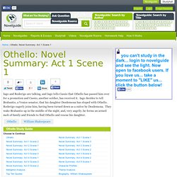 othello analysis In othello, shakespeare tells the story of the soldier othello, a noble and respected man, whose insecurities enable him to fall prey to the overwhelming power of.