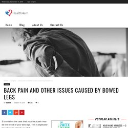 Bowed Back The Best Exercise for Back Pain