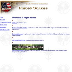 Other Pagan Links