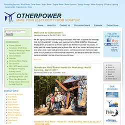 Welcome to OTHERPOWER.COM