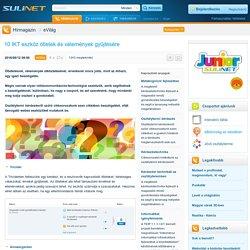 10 IKT eszköz ötletek és vélemények gyűjtésére