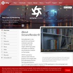 OctaneRender: Overview