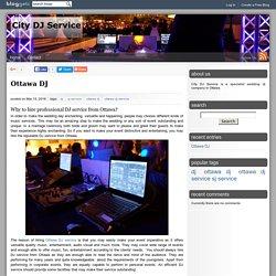 City DJ Service