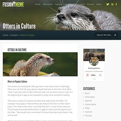 Otters in Culture