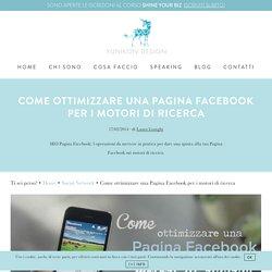 Perché è importante ottimizzare una Pagina Facebook.Campobasso City