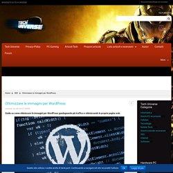 Ottimizzare le immagini per Wordpress [SEO]