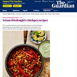 Yotam Ottolenghi's chickpea recipes