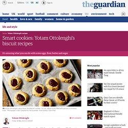 Smart cookies: Yotam Ottolenghi's biscuit recipes