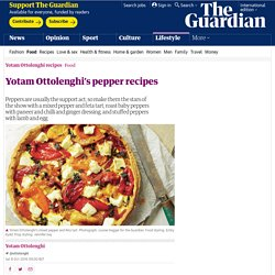 Yotam Ottolenghi's pepper recipes