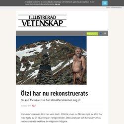 Ötzi har nu rekonstruerats