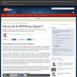 Où en est le BYOD au Japon ?