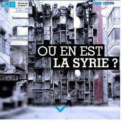 Où en est la Syrie?