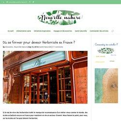 Où se former pour être herboriste en France ?