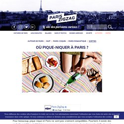 Où Pique-Niquer à Paris ?