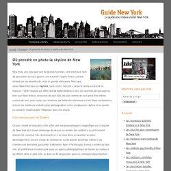 Où voir la skyline de New York ?