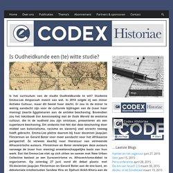 Oudheidkunde een (te) witte studie? - CODEX Historiae