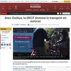 Avec Ouibus, la SNCF domine le transport en autocar