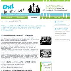 ouijemelance.org - Ateliers SENSIBILISATION