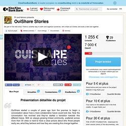 OuiShare Stories présenté par Pri and Adriano