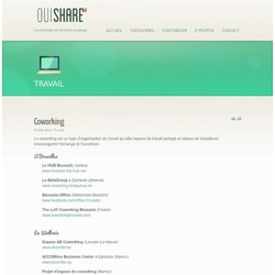OuiShare - Travail
