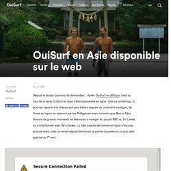 Surf en Asie disponible sur le web – OuiSurf